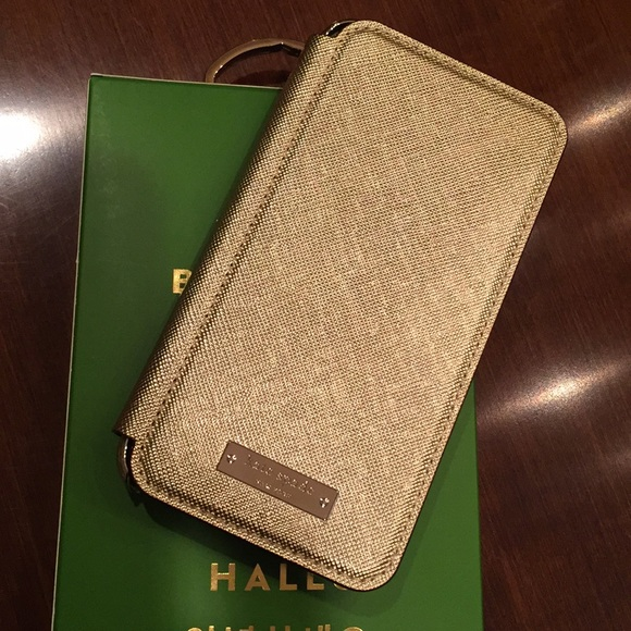 detailed look c240d f866d Kate Spade iPhone X folio case NWT